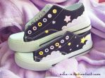 Shooting Star Sneakers II by Nika-N