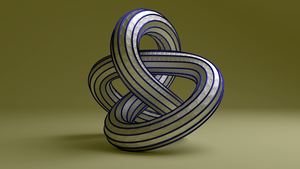 Torus Knot 731 by AnthonyRalano