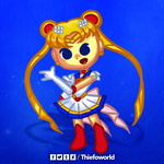 Huevember 18 - Sailor Moon by Thiefoworld