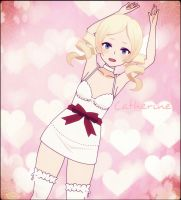 Catherine - From the Game Katherine - by Xx-Chellie-Bellie-xX