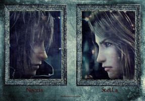 FF XIII-Noctis and Stella by Kot1ka