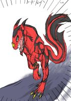 Ares vos's magma class dragon by dragongirl900