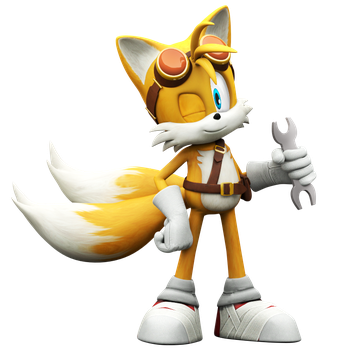 Tails Boom, Rise Of Lyric Model by Nibroc-Rock
