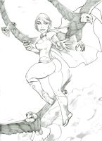 Power Girl by mez1602