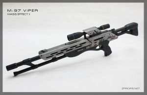 M-97 Viper Sniper Rifle Final. by zanderwitaz