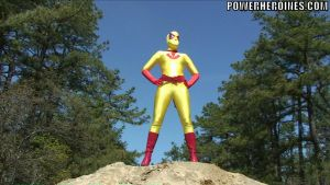 Golden Strike - proud superheroine 2 by villainofspand