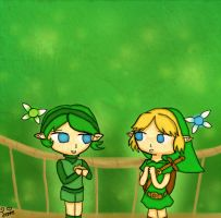Contest Entry, Saria's goodbye by Jrynkows