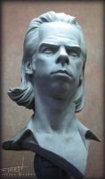 Nick Cave Bust 007 by TrevorGrove