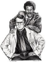Garth Marenghi's Darkplace by mydogatela