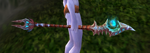 WOW-Sister Svalna's Aether staff by josy-style