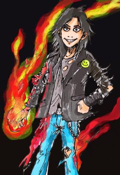 AXEL The Psycho Magician by deanaxlrose