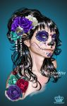 Day of the Dead by ElectronicRainbow