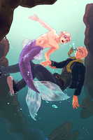 Merman**Yaoi**SuFin by 01rosso