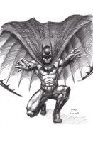 Batman Sketch 6-10-2013 by myconius
