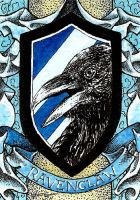 Ravenclaw House Crest ATC by TempestErika