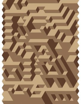 Brown Tessellation by Humble-Novice