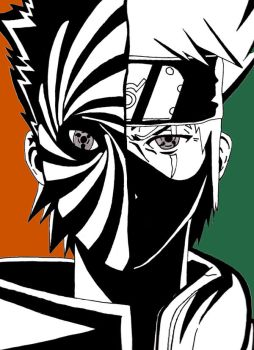 Obito As Tobi And Kakashi by NagatoSan