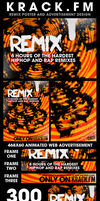 Remix Poster + Advertisements by GrahamPhisherDotCom