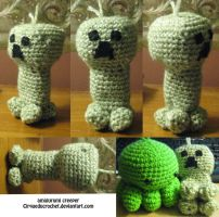 Creeper Amigurumi by cirqueducrochet