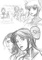 Misc Sketches by ZhaxRa