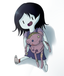 Little Marcie and Hambo by AdventureWoot