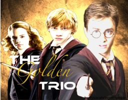 The Golden Trio by sectumsempra95