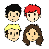 MCR Stickers by Izzy-May