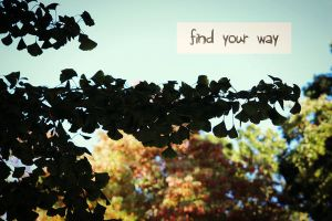 find your way by fotomademoiselle