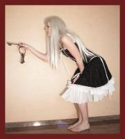 Alice opens small door 2 by Lisajen-stock