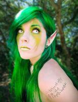 Leda- Green Hair by LedaMonsterBunnyLove