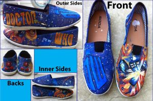 Doctor Who Shoes by CrystalsCreative