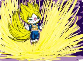 omg a supa saiyan by theX-plotion