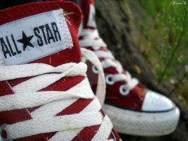 Converse. All Star by DeannaAsDiana
