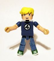 Franklin Richards Custom Minimate by luke314pi