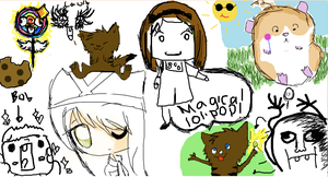 iscribble collab 2 by Pilliercp