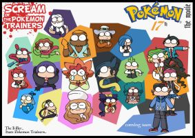 SCREAM of ISSHU PokemonTrainer by c4tman