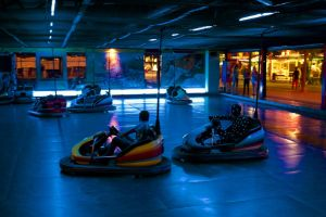 One Day At The Bumper Cars Ride by batmantoo