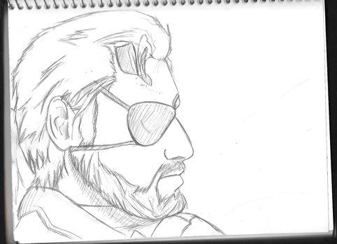 MGS V- Snake by ChrisWolf11
