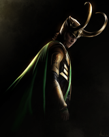 Loki - Painting by Lasse17