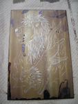 Lion Etching WIP: HG Plate by starsightsw2007