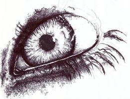 Eye Scribbled by FeenixDOWN