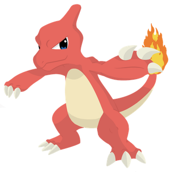 #005 Charmeleon by AbsoL-G
