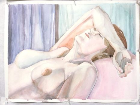 Woman Resting by Simply Erika by SimplyErika