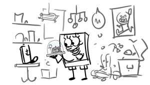 SpongeBob Movie 2 Storyboard by shermcohen