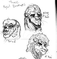 The Royal Brothers by LoneWolf510