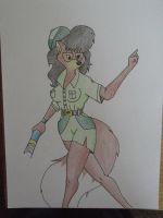 Archaeologist Foxy Lady by CptDaniel