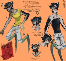 Corrupted Marona [character sheet] by chvckles