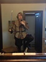 Elizabethan outfit, first attempt by ClockworkMultiverse
