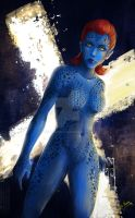 Mystique  (FAN ART) by HisakiChan