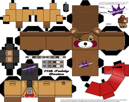 11th Doctor cubeecraft Teddy Bear from Doctor Who by SKGaleana
